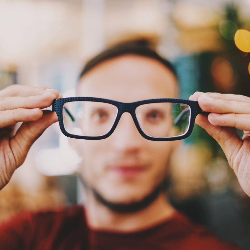 eyeglasses abstract